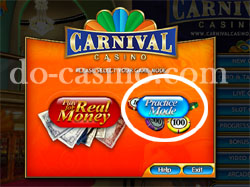 Carnival Casino trial play1