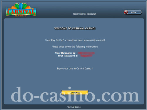 Carnival Casino trial play3