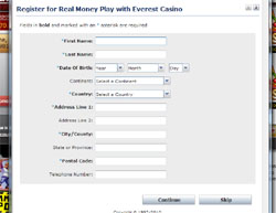 Everest Casino real play 1