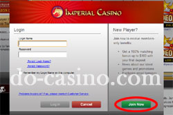 Imperial Casino real play 1