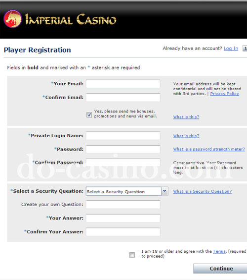 Imperial Casino real play 2
