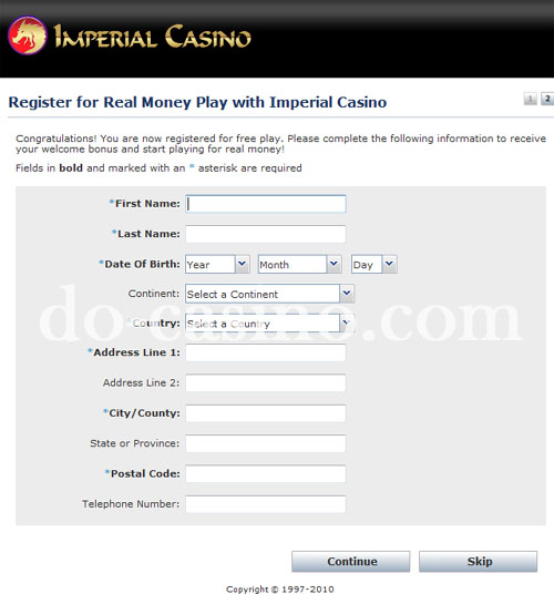 Imperial Casino real play 3