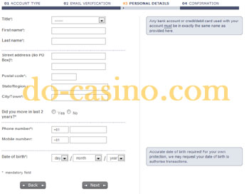 MoneyBookers registration