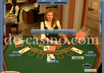 Live dealer blackjack australia